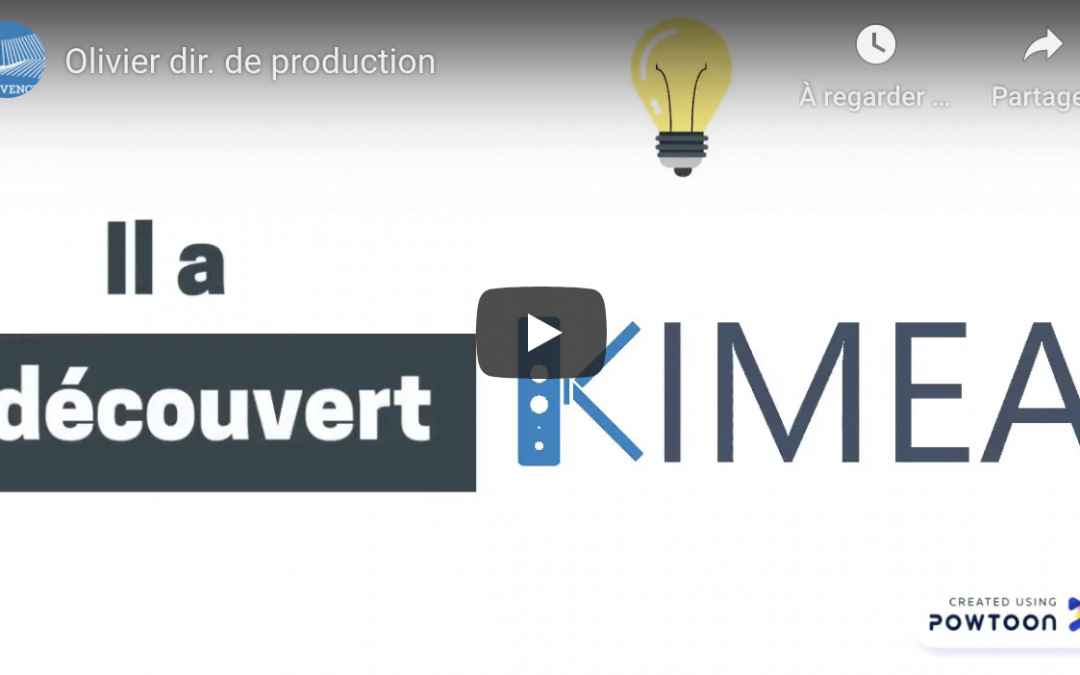 KIMEA IN THE DAILY LIFE OF A PRODUCTION SITE MANAGER